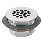 Waste Strainer Assembly, Satin Chrome-Plated