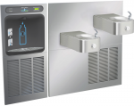 Filtered In-Wall Bottle Filling Station- Contour