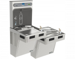 EZH2O BI-LEVEL COOLER W/ FILTER & BOTTLE STATION