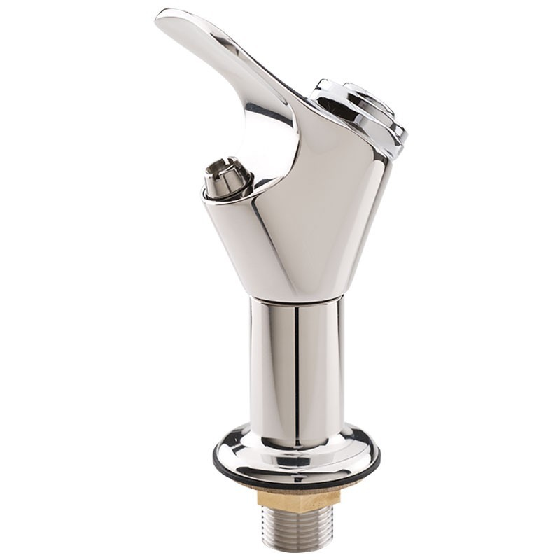 5010 6427ss Polished Stainless Steel Push Button Bubbler