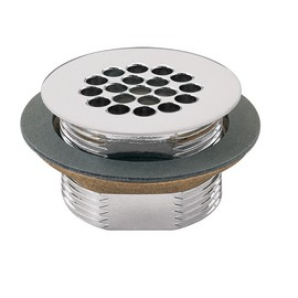 Waste Strainer Assembly, Polished Chrome-Plated