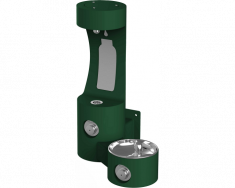 Outdoor EZH2O Bottle Filling Station, Wall Mount